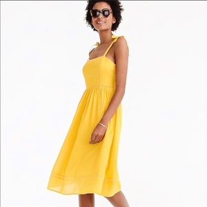 🌼 Point Sur Yellow Cotton Dress 🌼
